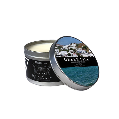 Greek Isle Mykonos Candle 6 oz tin