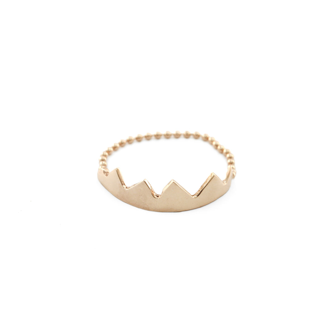 MAX CROWN CHAIN RING