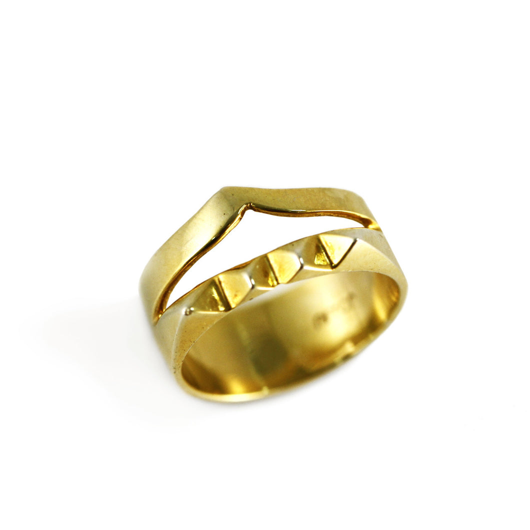 TEO SPIKE RING