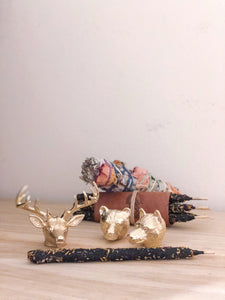 MORO THE WOLF INCENSE HOLDER