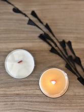 Load image into Gallery viewer, GRAPEFRUIT & MINT | 100% SOY WOODEN WICK CANDLE