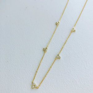 TRIO CLOVER NECKLACE