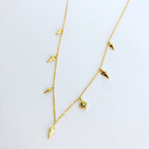MINI CONFLICT DANGLE NECKLACE