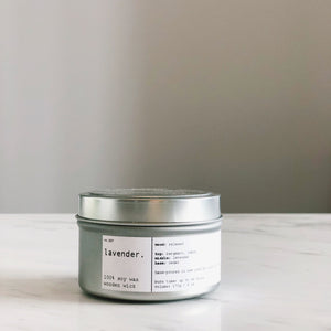 LAVENDER | 100% SOY TRAVEL SIZE CANDLE