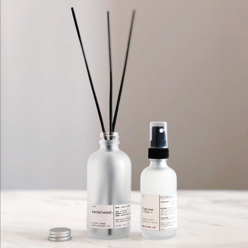 ORGANIC DIFFUSER OIL + HAND SANITIZER SPRAY KIT