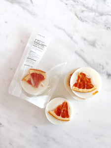 GRAPEFRUIT & MINT LEAVES ORGANIC SOAP + HAND SANITIZER SPRAY KIT
