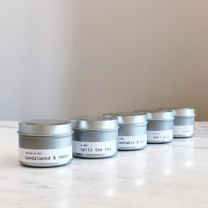 100% SOY CANDLE SAMPLE SET
