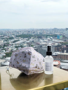 ALIBI NYC X CJW EXCLUSIVE | EARL GREY HAND SANITIZER SPRAY + PUPPY LOVE MASK