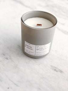 JASMINE + SANTAL | VIRGIN COCONUT CRÈME WAX & WOODEN WICK