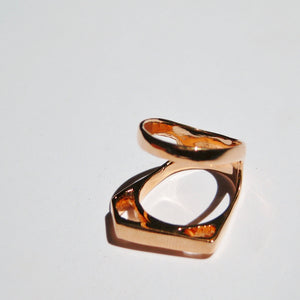 PHANTOM LINEAR KNUCKLE RING
