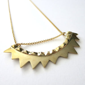 TEO SPIKE NECKLACE