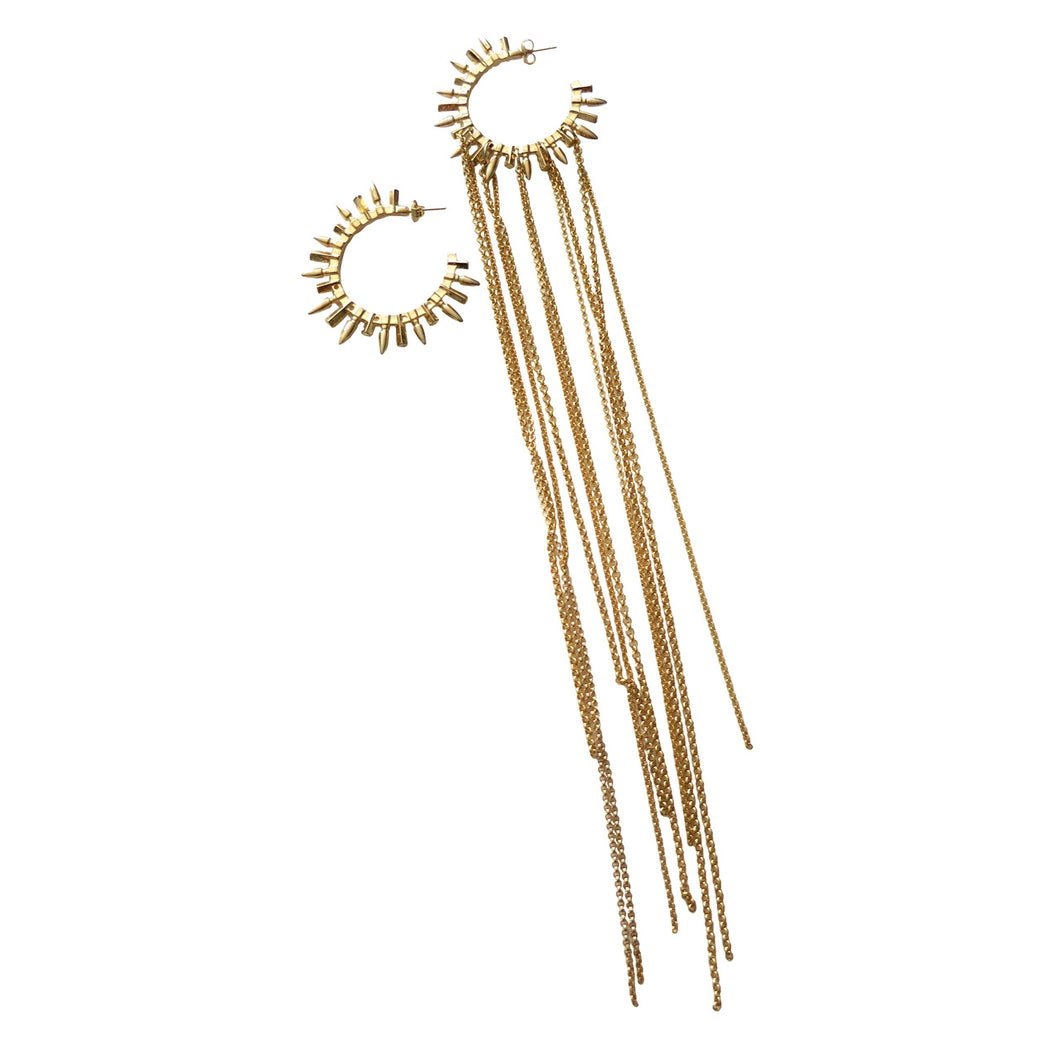 ASYMMETRIC SPIKE HOOPS
