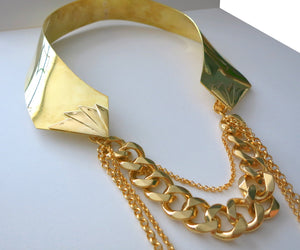 IRON FAN CHAIN COLLAR