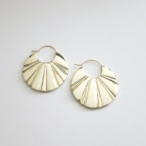 ANUKET COIN EARRINGS