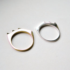 STACKABLE RAZOR RING