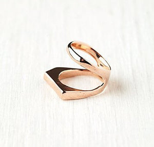 LINEAR KNUCKLE RING