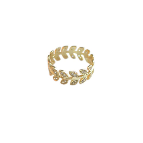 LOVE FERN RING
