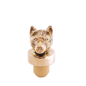 MORO THE WOLF WINE STOPPER