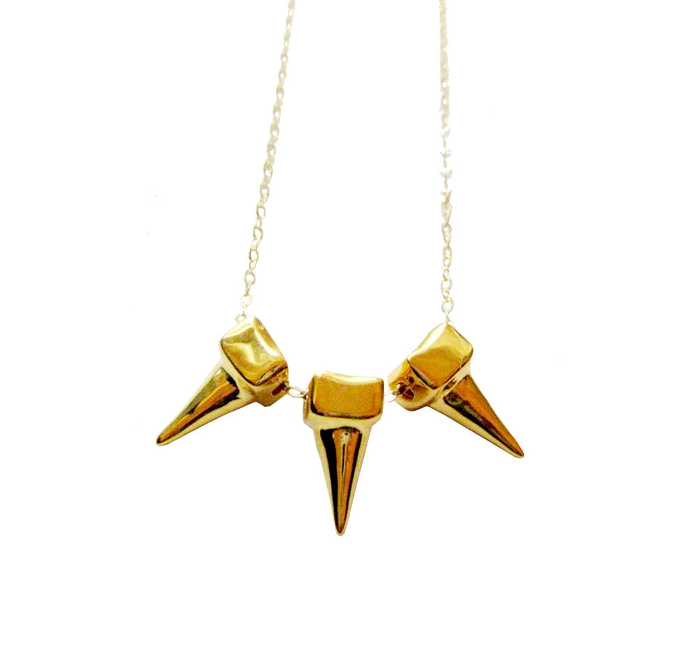 TRIO SOLIDITY NECKLACE