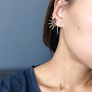 MISMATCH BAR DANGLE EARRINGS