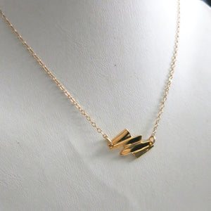 HORIZONTAL DECO NECKLACE