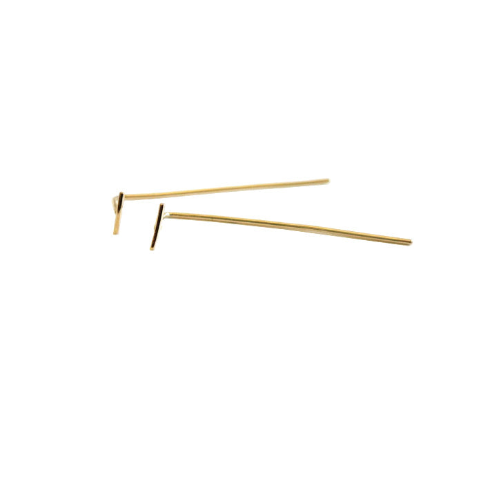 BAR FINE LINE EARRINGS