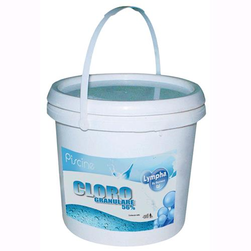 Dicloro Granulare Lympha By Bestway Per Piscina 5 Kg. Conf. 4Pz.  -59005