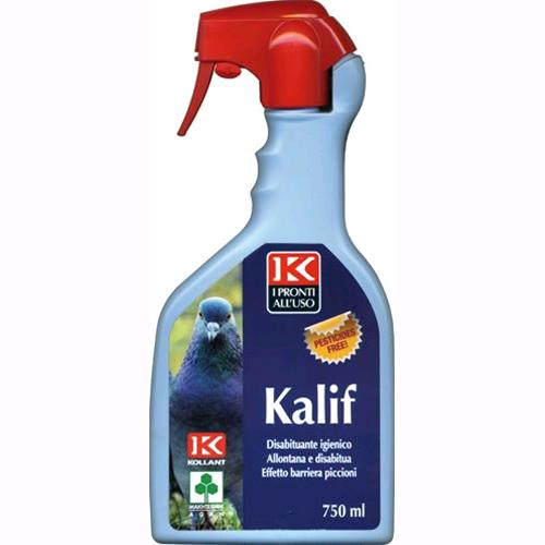 REPELLENTE SPRAY per PICCIONI mod. KALIF da 750 ml KOLLANT