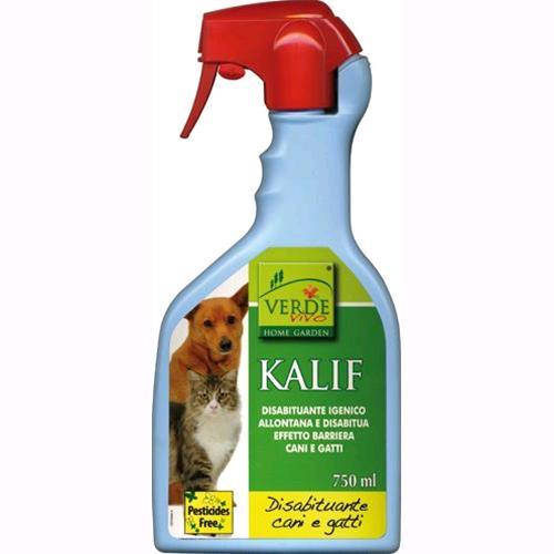 REPELLENTE Disabituante SPRAY per CANI E GATTI mod. KALIF 750 ml KOLLANT