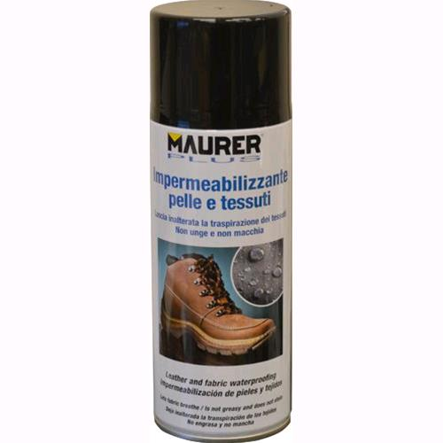 IMPERMEABILIZZANTE SPRAY per TESSUTI E PELLI SPRAY MAURER PLUS 400 ml conf. 6 pz