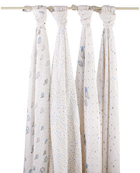 aden + anais night sky classic muslin collection 4 pack