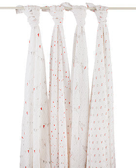 aden + anais make believe classic muslin collection 4 pack