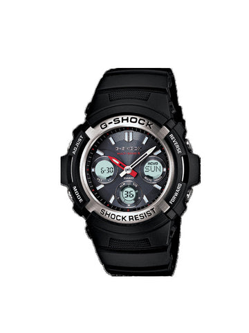 CASIO G SHOCK Solar Atomic Ana Watch AWGM100