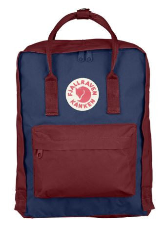 KANKEN Backpack  Royal Blue x Ox Red