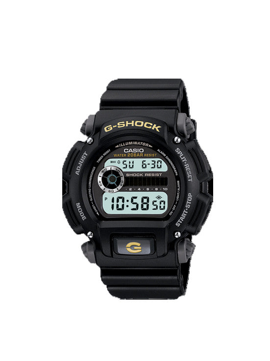 CASIO G SHOCK Watch ylw&blk DW9052-1B