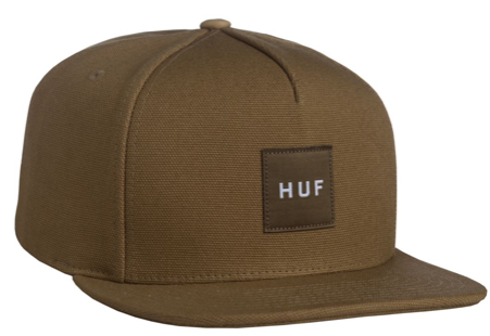 HUF: DUCK CANVAS BOX LOGO SNAPBACK HONEY
