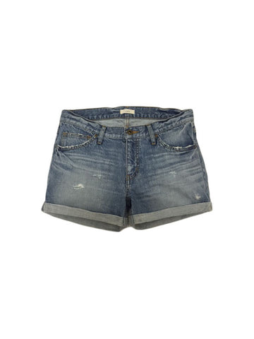 Libllis Selvage Denim Short / Light Blue