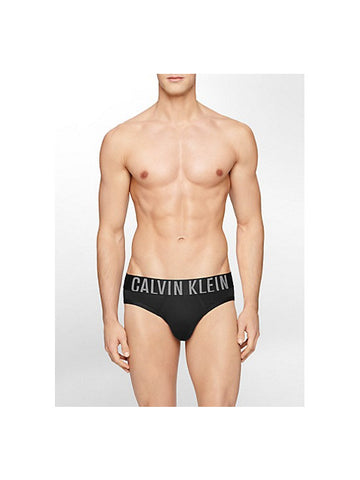 CALVIN KLEIN UNDERWEAR INTENSE POWER MICRO HIP BRIEF / BLACK