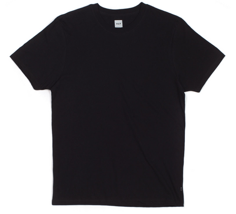 HUF: 3 PACK TEE BLACK