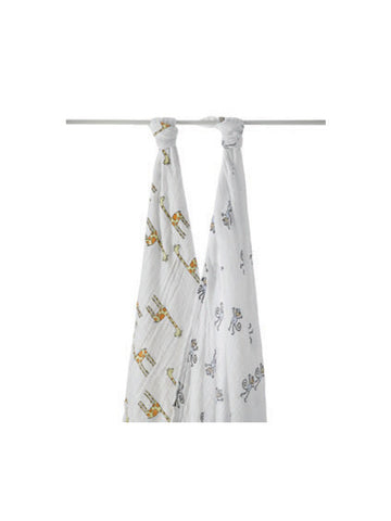 aden + anais jungle jam swaddle classic muslin collection 2 pack