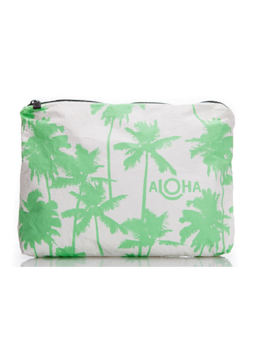 Aloha Collection: mid-size Coco Palms, key lime print