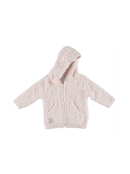 Barefoot Dreams Cozychic® Toddler Hoodie / Pink