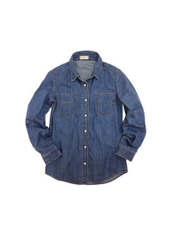 Libllis Denim Shirt in Blue