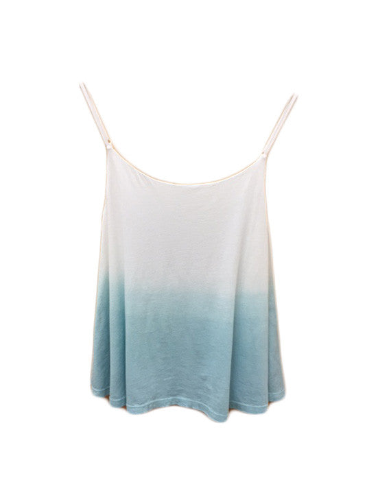 Libllis Dip Die Cami Top / Sea