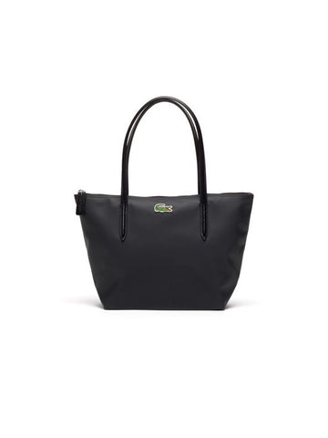 Lacoste L.12.12 Concept Medium Zip Tote Bag / Black