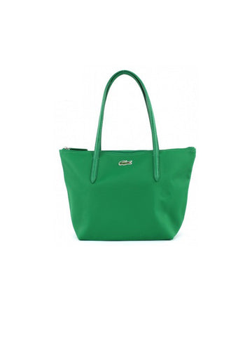 Lacoste L.12.12 Concept Medium Zip Tote Bag / Jelly Bean