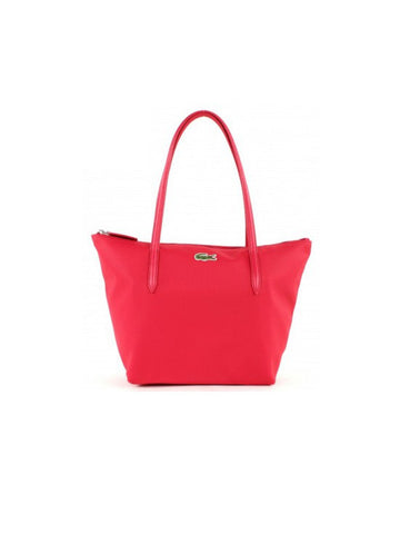 Lacoste L.12.12 Concept Medium Zip Tote Bag / Virtual Pink