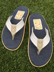 Island Slipper Men's White Leather