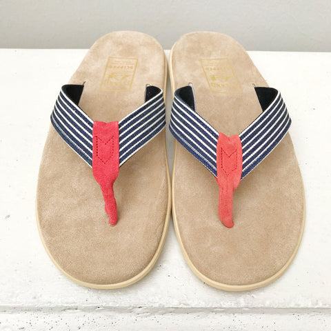 Island Slipper Men's&Women's  DENIM×BEIGE