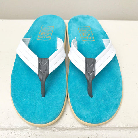 Island Slipper Men's&Women's TURQUOISE